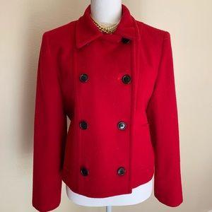 Pendleton made in USA 🇺🇸 Red Wool Coat